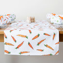 Carrot Fabric Table Runner