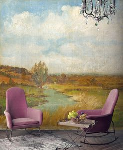 Irwell Wall Mural By Woodchip And Magnolia - home decorating