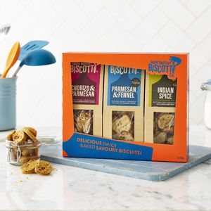 Savoury Biscotti Gift Pack - biscuits and cookies