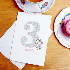 3rd Birthday Card - shop by category