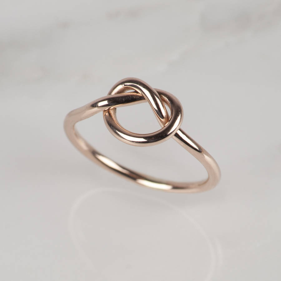 K Knot Ring