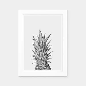 Pineapple Nursery Print