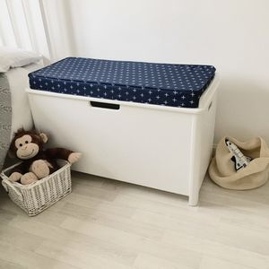 Children's Toy Storage Seat Chest Box