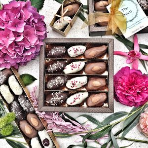 Luxury Chocolate Dates Medium Gift Box - easter chocolates
