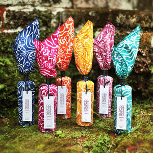Six Exotic Fruit Preserve Handprinted Batik Gift Sets