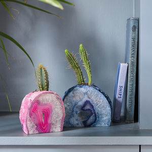 Gemstone Planter - gifts for her