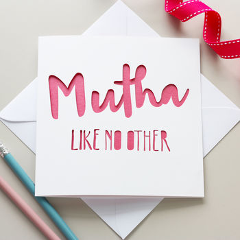'Mutha Like No Other' Mother's Day Card