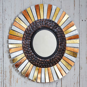 Fair Trade Juhi Sunshine Mirror - mirrors