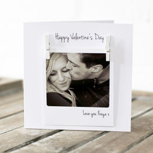 Personalised Photo Love Card - wedding cards