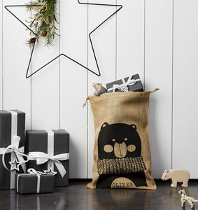 Personalised Bear Christmas Sack - our top new picks