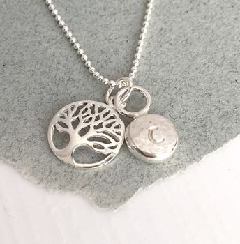 Handmade Tree Of Life Personalised Necklace