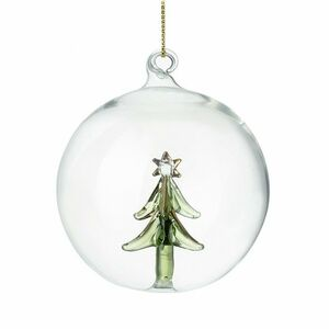 Christmas Tree Glass Bauble