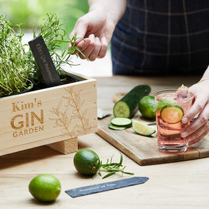 Gin Botanical Cocktail Garden Kit And Planter - gifts for her