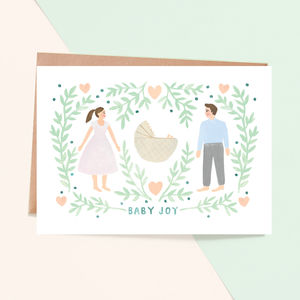 'Baby Joy' New Baby Card