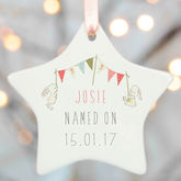 Naming Day Gifts - christmas decorations