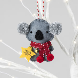 Baby's 1st Christmas Koala Tree Decoration
