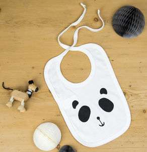 Patch The Panda Baby Bib