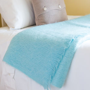 Mohair Throws And Cushions