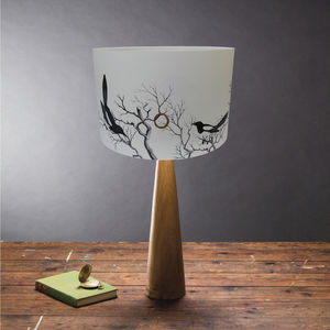 'Mischief Makers' Magpies Lampshade
