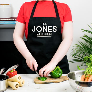 The… Kitchen Personalised Apron