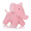 Knitted Elephant Toy Comforter
