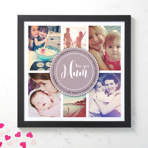 Personalised Photo Collage For Mum - mother's day gifts