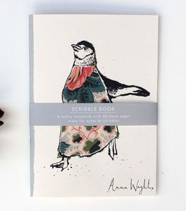 Anna Wright Penguin Notebook