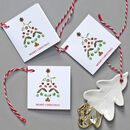 Gift Tags With Christmas Tree Design