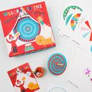 Vintage Style Spinning Tops Game