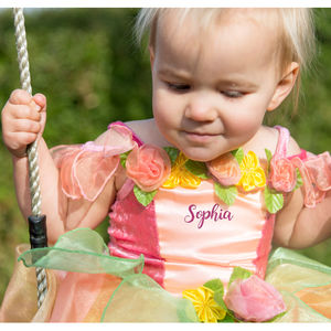 Children's Peach Melba Dress Personalised