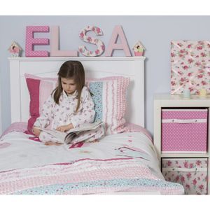 Ellie Quilted Pillowcase - children's cushions