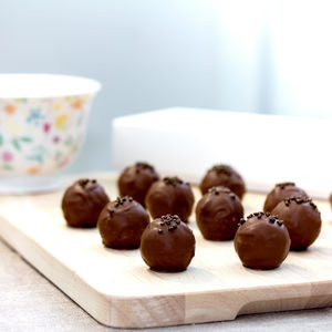 Peanut Butter And Salted Caramel Truffles Gift Box
