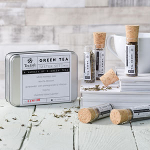 Green Tea Taster Set - tea & infusions