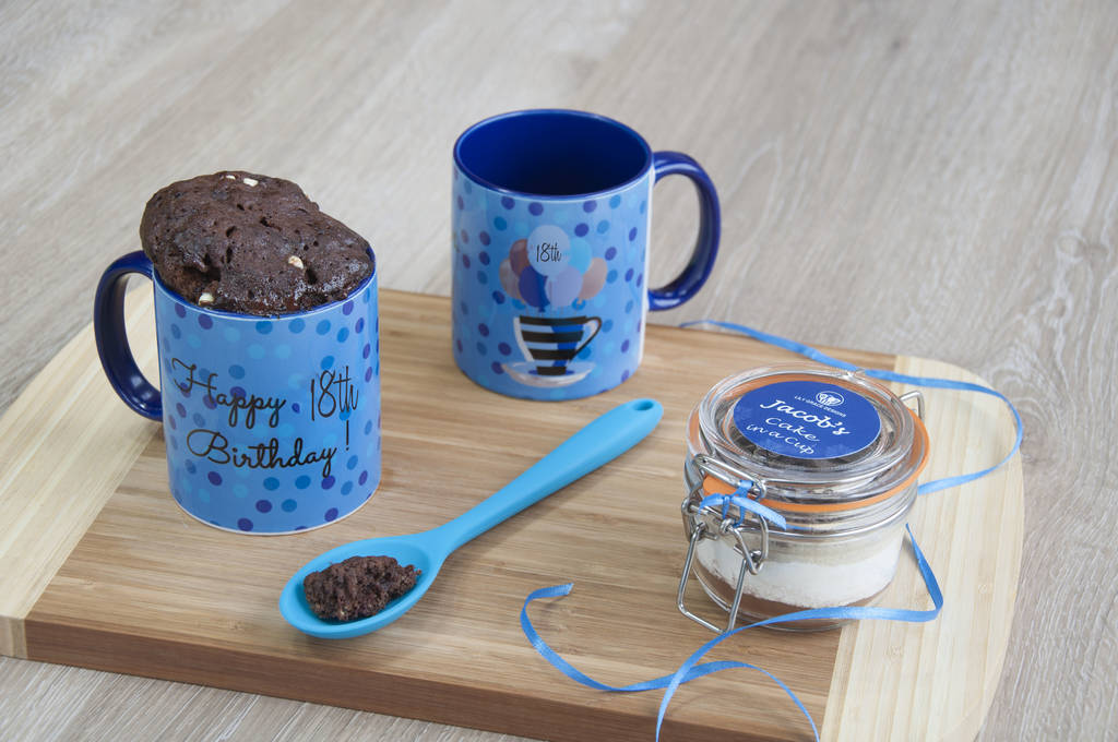 18th Birthday Vegan Mug Cake Gift Set