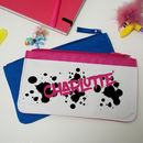 Graffiti Personalised Pencil Case