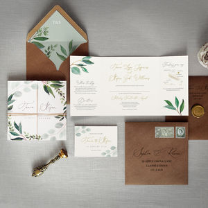 Cyprus Wedding Invitation