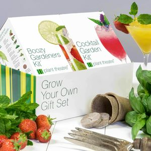 Alcoholic Gift Set Grow Your Own