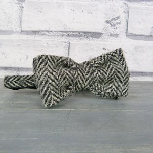 Boys Harris Tweed Bow Tie - clothing