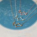 Lyra Constellation Necklace