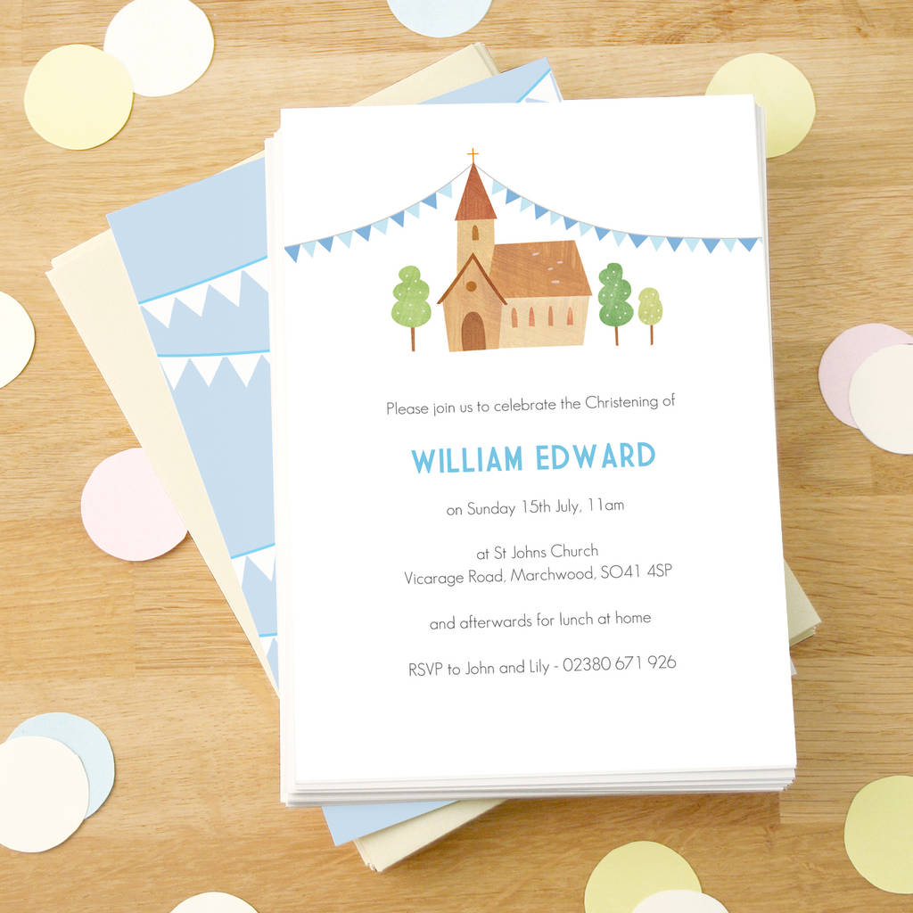 Personalised Party Invitations | notonthehighstreet.com