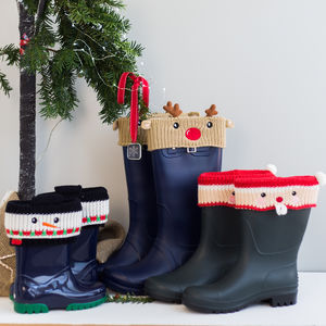 Personalised Christmas Boot Cuffs