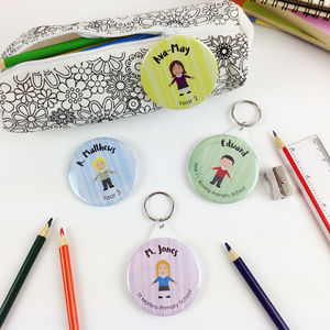 Back To School Badge Or Keyring