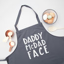 Daddy Mc Dad Face Apron