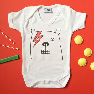 Big Bear Babygrow - clothing
