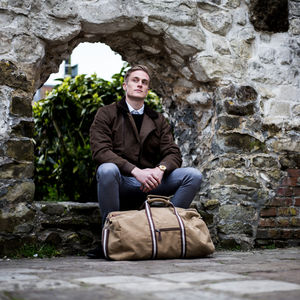 Personalised Vintage Canvas Holdall - gifts for teenage boys