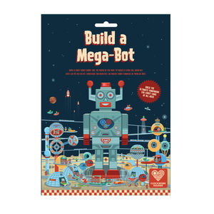 Build A Mega Bot Giant Robot - stocking fillers