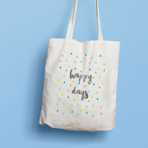Happy Days Tote Bag - shopper bags