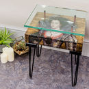 Handmade Vintage Queen Of Bohemia Side Table