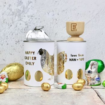 Personalised Easter Egg Gift Tin