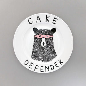 Cake Defender Side Plate - tableware